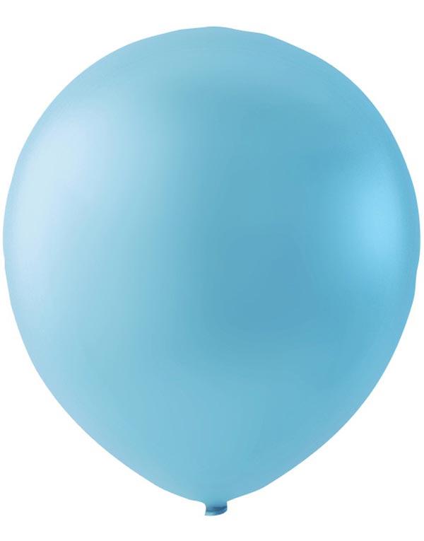 Bilde av 100 Stk 23 Cm Megapack - Baby Blå Ballonger