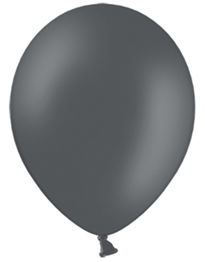 Bilde av 100 Stk 13 Cm - Megapack - Mørk Grå Små Ballonger