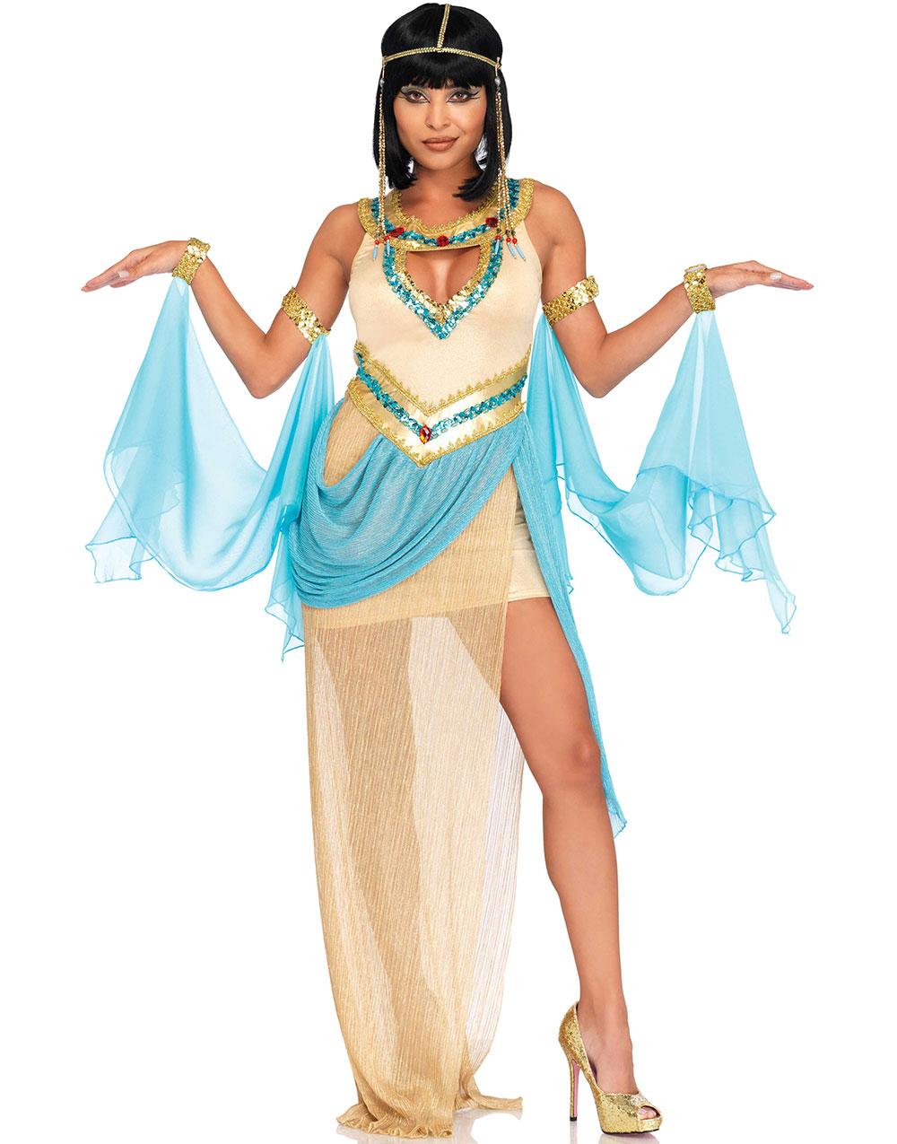 b14ca14c Queen Cleopatra Kostyme 3 Deler