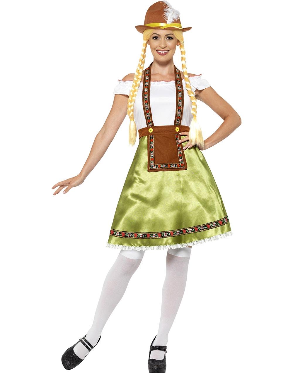 2c0f0c5c Oktoberfestkjole & Forkle - Damekostyme