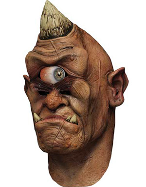 Realistisk Cyclops Maske med Digital Øyeanimasjon