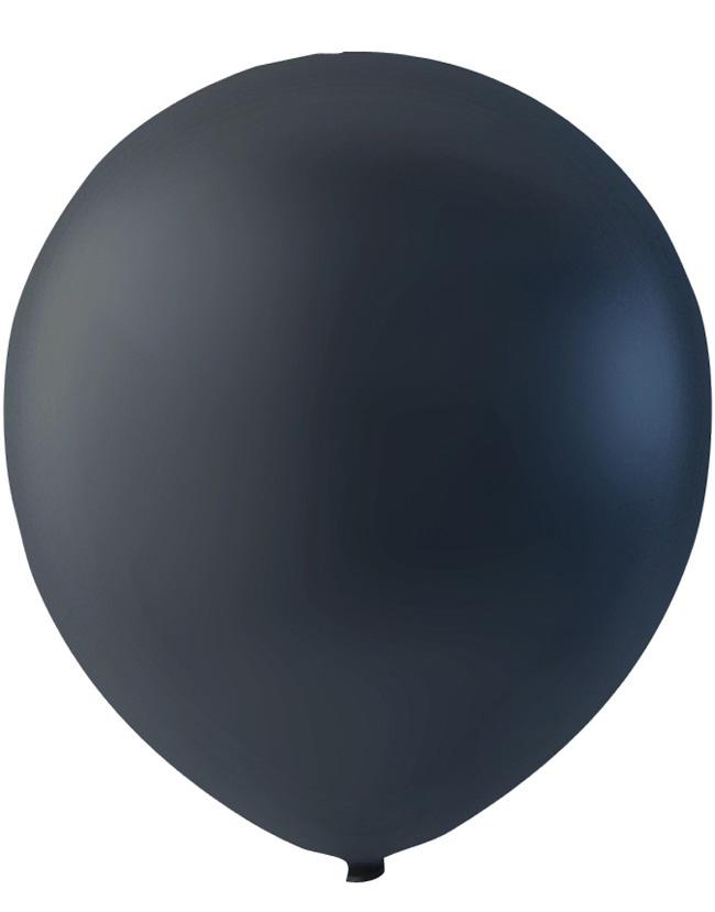 Bilde av 100 Stk 13 Cm - Megapack - Svarte Små Ballonger