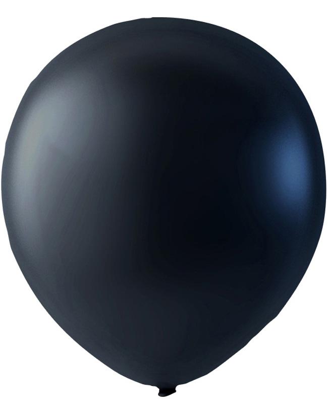 Bilde av 100 Stk 13 Cm - Megapack - Svart Metallic Små Ballonger